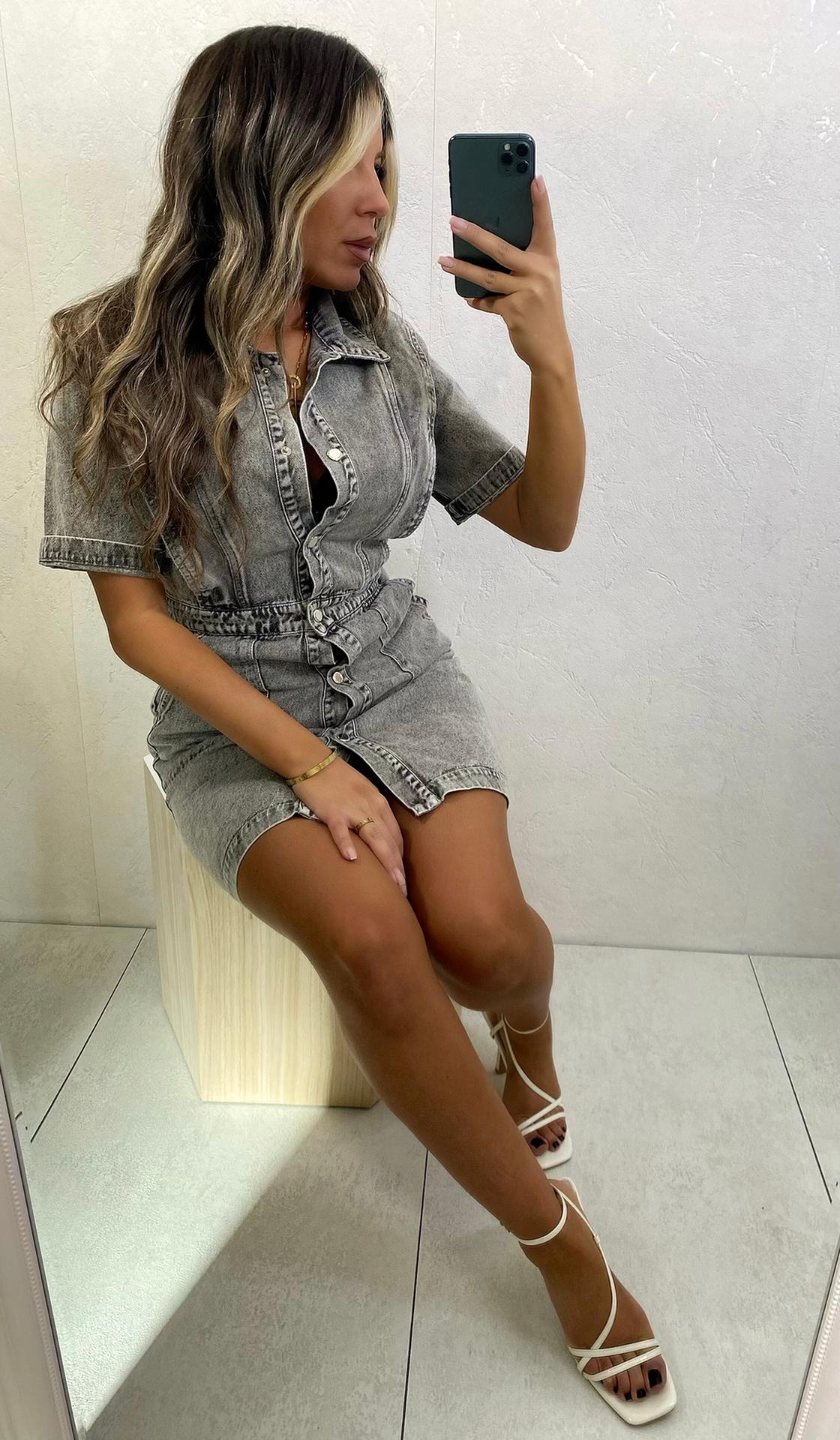 Dress Galia Gray